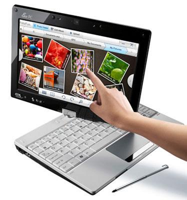 Планшетный нетбук Asus Eee PC T91 — в продаже с июля