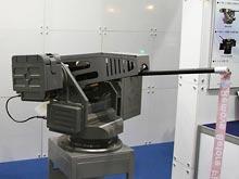 В Южной Корее создана  пушка-робот, работающая в полностью автоматическом режиме
