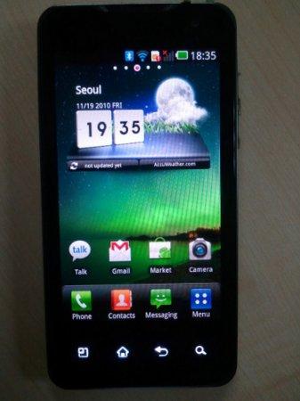 Новые фото смартфона LG Star с NVIDIA Tegra 2