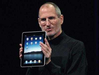 В России продано всего 40 000 официальных iPad