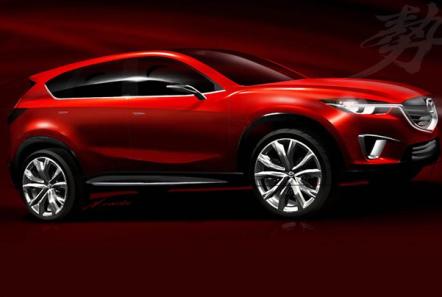 Новый компакт-кроссовер Mazda покажут в Женеве