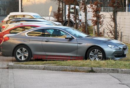 Новый BMW 6 Series Coupe: шпионские фото
