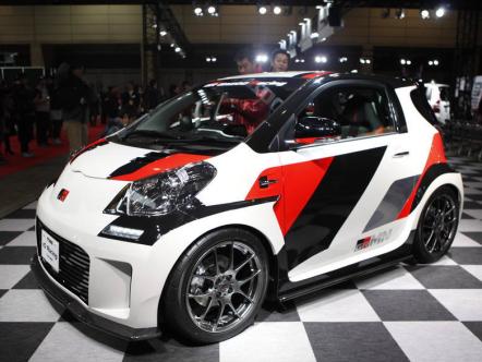 Субкомпактный Toyota IQ превратили в гоночного монстра