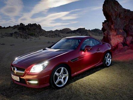 Новый Mercedes SLK  раскрыл карты