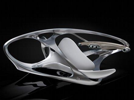 Не железом единым: арт-интерьер от Mercedes