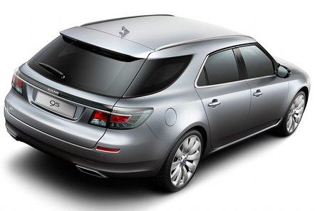 Saab показал универсал из новой линейки 9-5