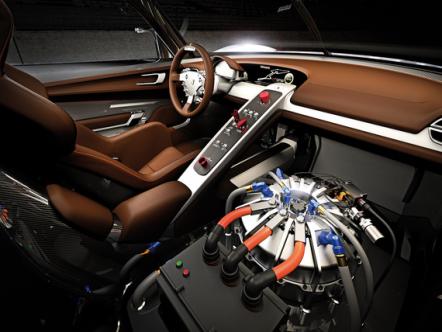 Porsche показал в Детройте гоночную лабораторию