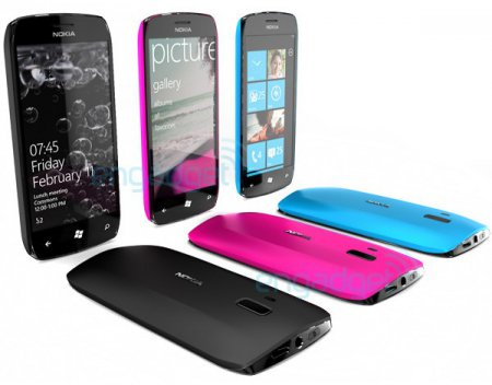 Концепт смартфона Windows Phone 7 от Nokia
