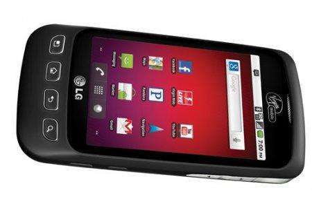 LG Opimus V – простой Android-смартфон для Virgin Mobile