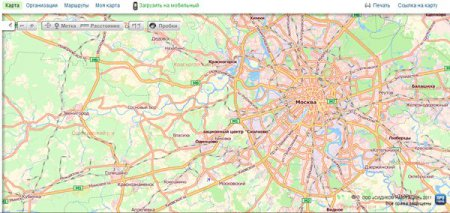 Сервис «Рамблер-Карты» обзавелся новыми картами, пробками и функцией маршрутизации