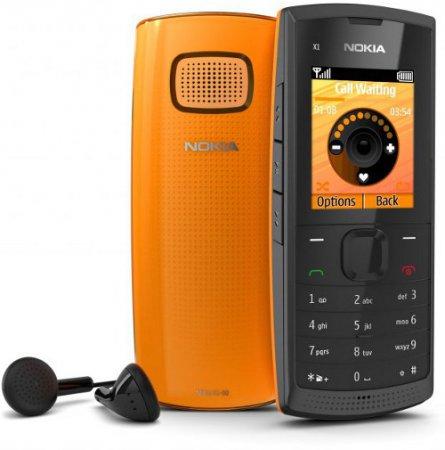 Nokia X1-00 – музыкальный телефон за менее чем 35 Евро