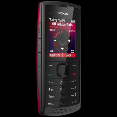 Телефон Nokia X1-01 с двумя SIM-картами: российский выпуск