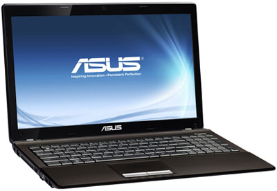 ASUS K53TA — недорогой ноутбук на платформе AMD Sabine