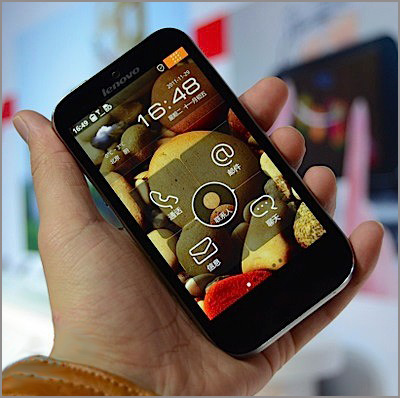 Смартфон Lenovo LePhone K2 с двухъядерным CPU и 4,3