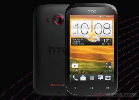 HTC Desire C: официальная фотография от Vodafone