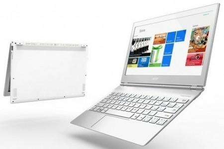 Ультрабуки Acer Aspire S7 оснащены сенсорными дисплеями разрешением Full HD