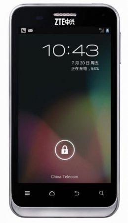 Смартфон ZTE N880E получил обновление Jelly Bean