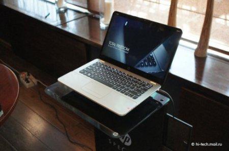 HP представила в России новейшие ультрабуки Envy и Spectre