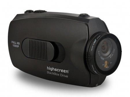 Highscreen Black Box Drive: Full HD-видеорегистратор с лазерным прицелом