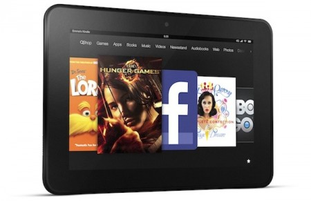 Amazon также представила планшеты Kindle Fire HD с диагональю экрана 7 и 8,9 дюйма