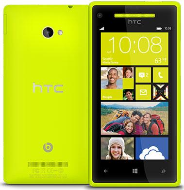 HTC официально представила смартфоны 8X и 8S под управлением Windows Phone 8
