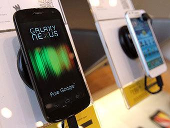 В США отменили запрет на продажу смартфонов Galaxy Nexus