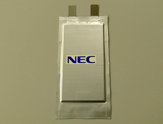 NEC увеличила плотность энергии Li-Ion аккумуляторов на 30%