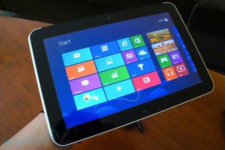 HP анонсировала планшет для бизнесменов ElitePad 900 на Windows 8
