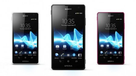 Sony Xperia TX и Sony Xperia V: цена и начало продаж в России