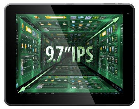Новый планшет Perfeo 9706-IPS с высококачественным 9,7-дюймовым дисплеем и ОС Android 4.1 Jelly Bean