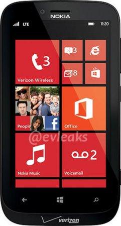 В Сеть просочилось изображение Nokia Atlas — Lumia 820 для Verizon