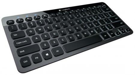 Logitech K810 – компактная Bluetooth-клавиатура с подсветкой