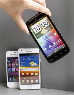 Samsung потребовала предоставить копию соглашения Apple и HTC