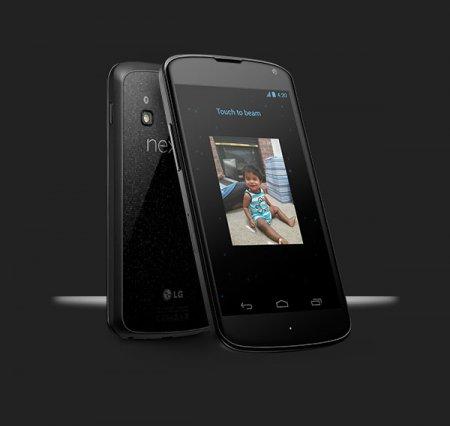 Представлен смартфон Google Nexus 4