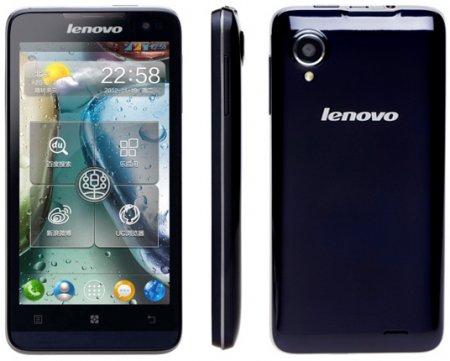 Смартфон Lenovo IdeaPhone P770 с аккумулятором на 3500 мАч