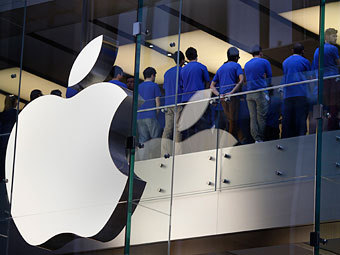 Apple подешевела за день на 35 миллиардов долларов