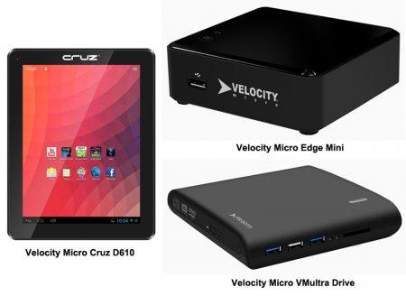 CES 2013: несколько новых продуктов от Velocity Micro