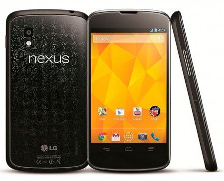 В России начали принимать заказы на смартфон Nexus 4