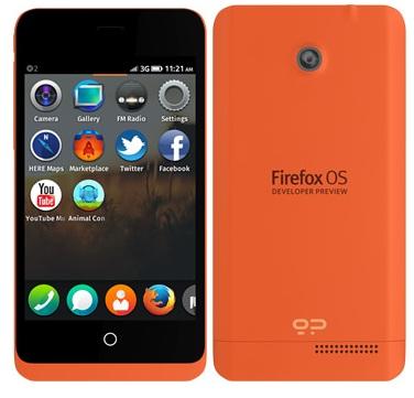 ZTE готовит смартфон на базе Mozilla OS