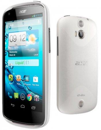 Acer официально анонсировала недорогой смартфон Liquid E1