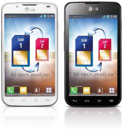 """LG Optimus L7 II Dual: «двухсимник» с 4,3"""" экраном на Android 4.1"""