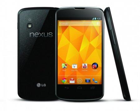 Продажи смартфона Nexus 4 превысили миллионный рубеж