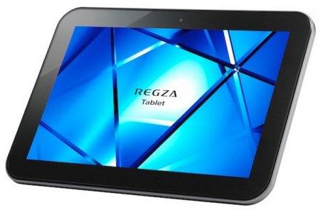 """10,1"""" планшет Toshiba REGZA AT501 на Android 4.1 поступил в продажу в Японии"""