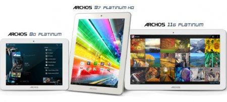 Планшет Archos 97 Platinum HD с экраном разрешением 2048 x 1536 пикселей стоит $299
