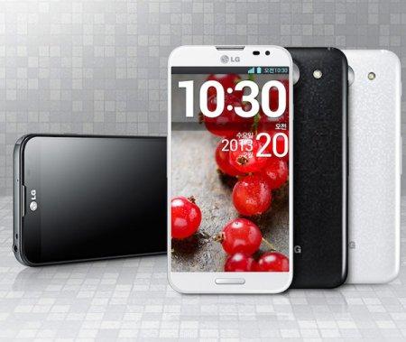 LG Optimus G Pro с экраном типа IPS размером 5,5 дюйма по диагонали — первый смартфон на процессоре Qualcomm Snapdragon 600