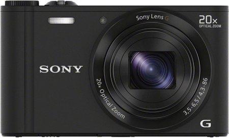 Sony Cyber-shot WX300 — очень компактная камера с 20-кратным зумом