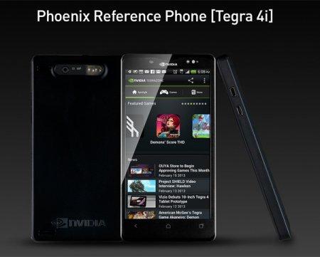 Представлен смартфон NVIDIA Phoenix на базе процессора NVIDIA Tegra 4i LTE