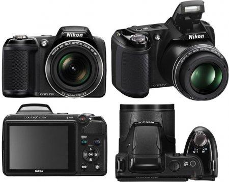 «Суперзум» Nikon Coolpix L320 с 26-кратным оптическим увеличением