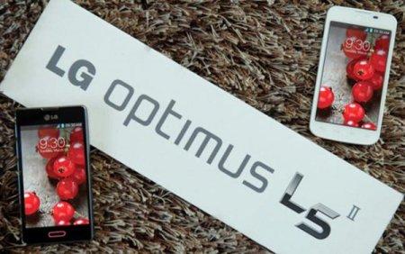 Мировой релиз смартфона LG Optimus L5 II