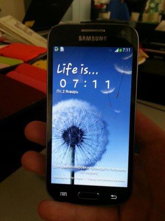 Первые фото смартфона Samsung Galaxy S4 mini